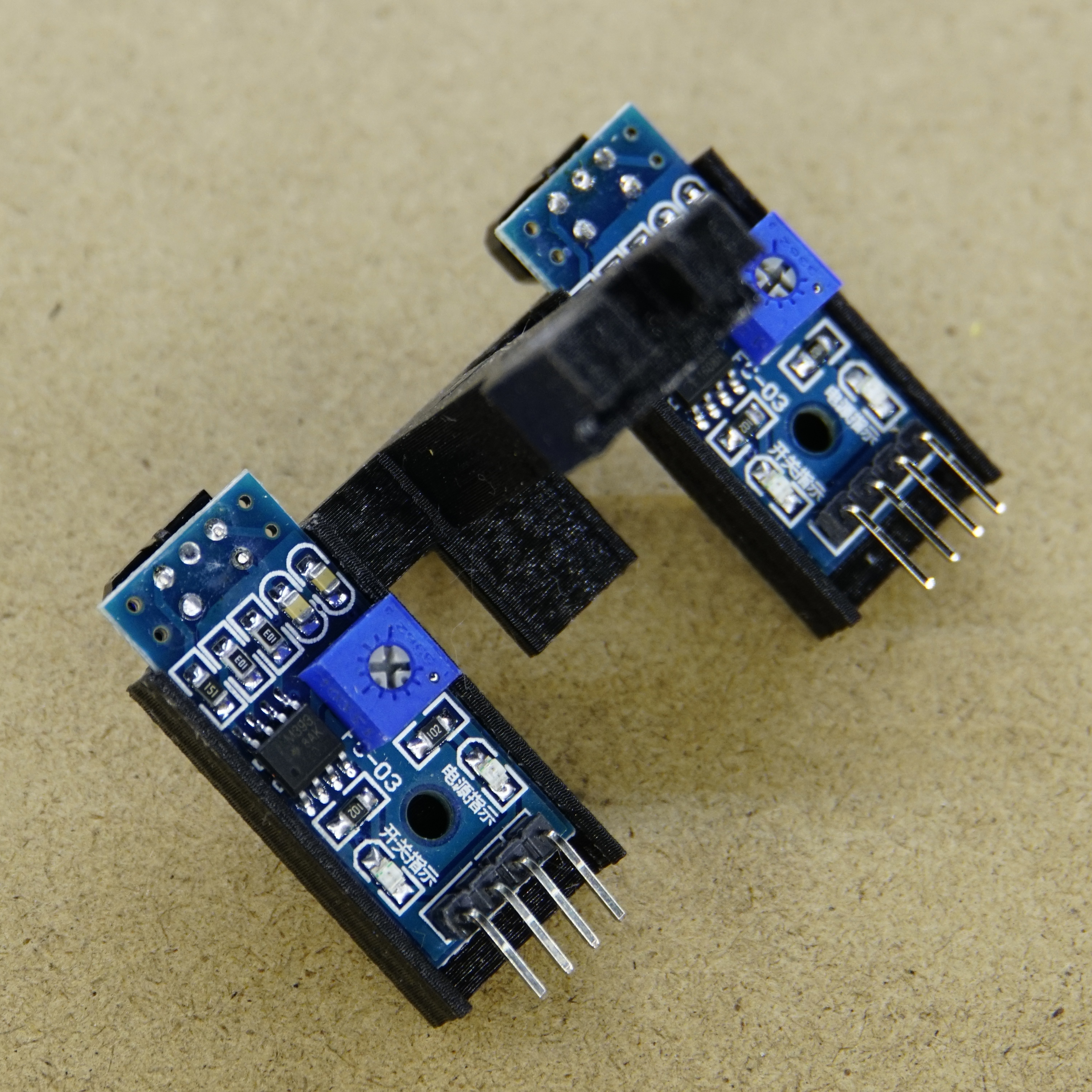 Circuit In The Infrared Reflective Detector Usually Found Many 2pcs Tcrt5000 Ir Sensor A2d Electronics