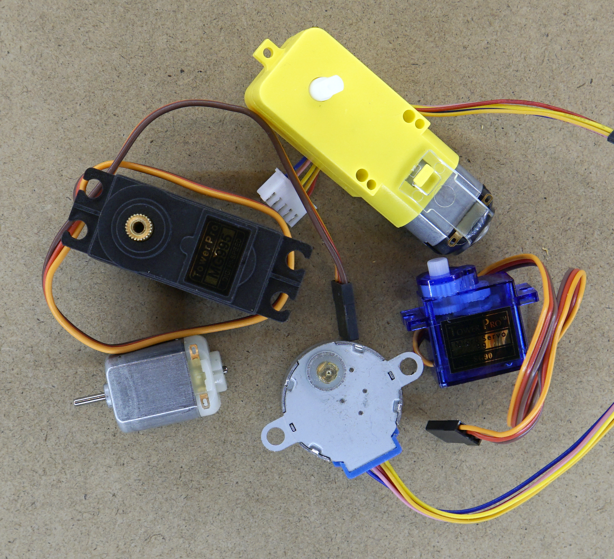 Motors and Servos