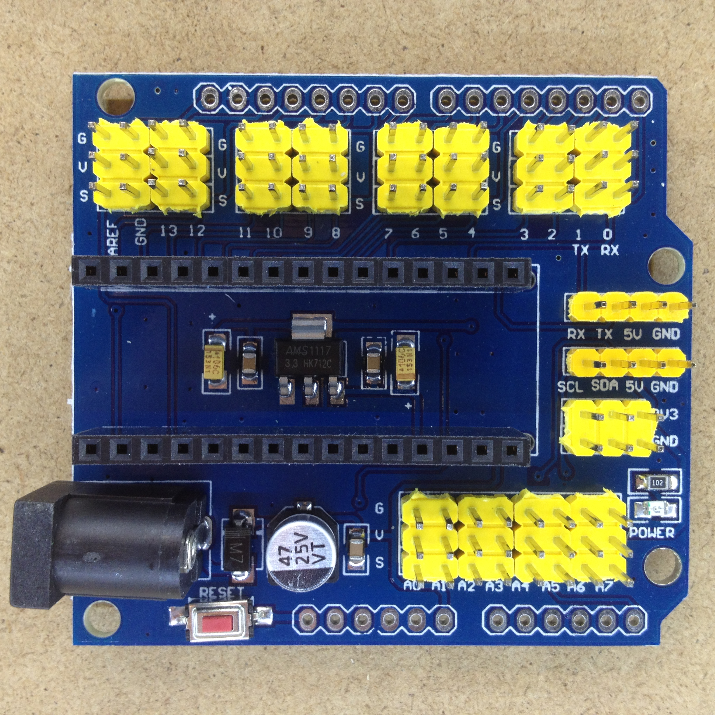 Arduino nano breakout shield expansion board a d electronics